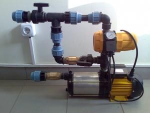 Poza 1 Hidrofor Prisma cu presostat electronic (120 litri/min.)