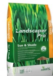 Poza 1 Seminte gazon (Everris (Scotts) Landscaper Pro de soare si umbra sac 10 kg